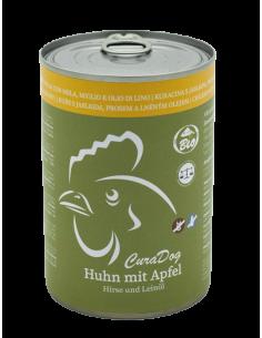 CuraDog Huhn mit Apfel,...